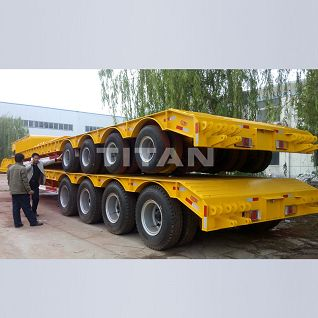 Lowbed Trailer,Lowbed Trailer with dolly,Lowboy Trailer