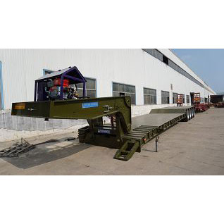 Front Loading Lowbed Trailer,Lowbed Trailer,Lowbed Trailer with dolly,Lowboy Trailer